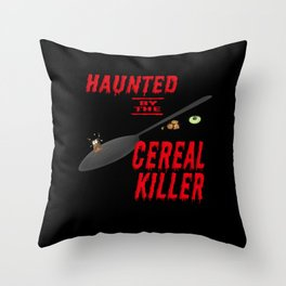 The long, long shadow of the cereal killer Throw Pillow