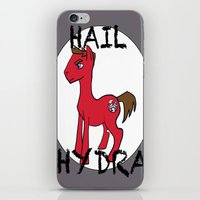 hydra iPhone & iPod Skins featuring HYDRA Pony by Tiff