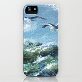 Océan iPhone Case