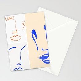 mariage de formes et de couleurs. Stationery Cards