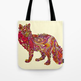 Fox by Day Tote Bag
