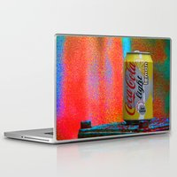 coke Laptop & iPad Skins featuring Groovy Coke by BOG Design