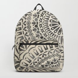 mandala14w Watercolor Mandala Backpack
