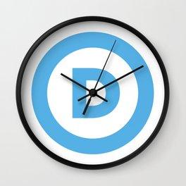 Democratic Party Logo Wall Clock