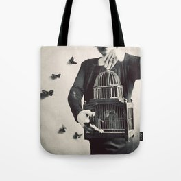 The Butterfly Releaser Tote Bag