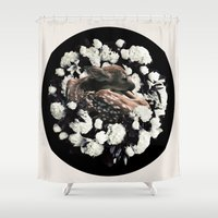 bambi Shower Curtains featuring Bambi by ARTQ