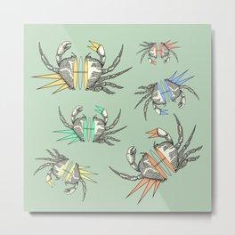 grab my crabs Metal Print