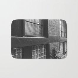 Brick Building Windows Bath Mat