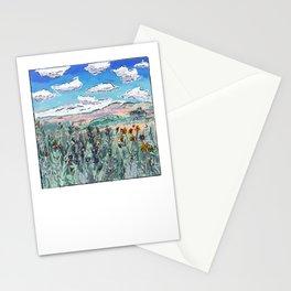 Colorado Plains Landscape Illustration Stationery Cards