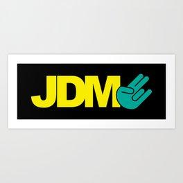 JDM shocker v2 HQvector Art Print