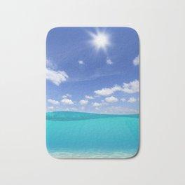 Sunny Sea Bath Mat
