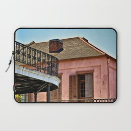 Open Shutters in the French Quarter Laptop Sleeve