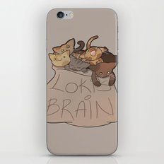 Loki's Brain iPhone Skin