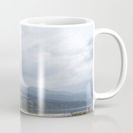 Landscape with the Białka river and the Pieniny Mountains, Poland Coffee Mug