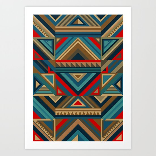Colorgraphics II Art Print