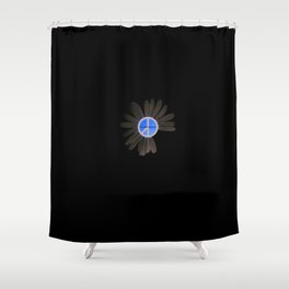 PEACE FLOWER Shower Curtain