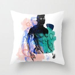Albert Remix NOODDOOD Throw Pillow