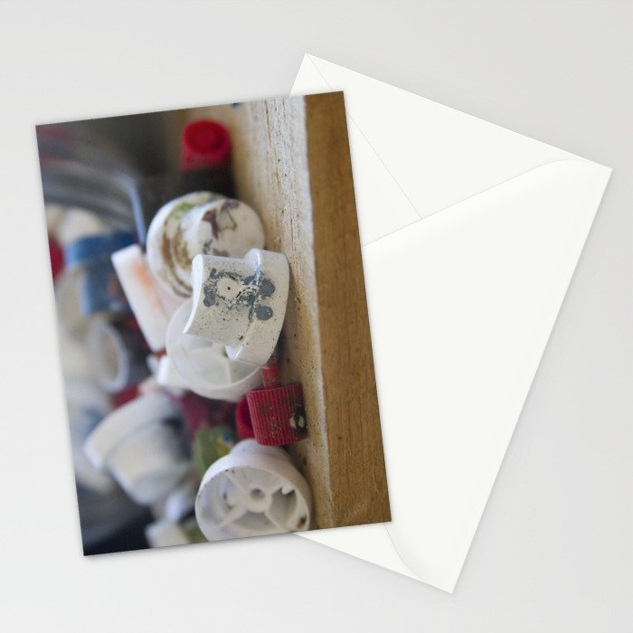 Spray Paint Graffiti Can Nozzle Stationery Cards