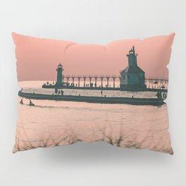 Sunset Lighthouse Pillow Sham