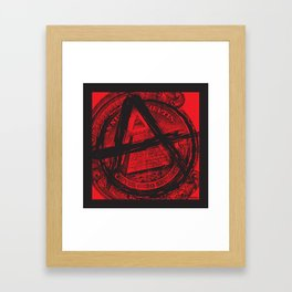 The Great (Anarchy) Seal Framed Art Print
