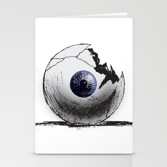 Broken Eye Stationery Cards