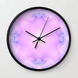 Kaleidoscope Pink Dream Wall Clock