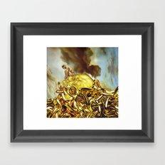 The Golden Child Framed Art Print