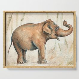 Elephant Serving Tray