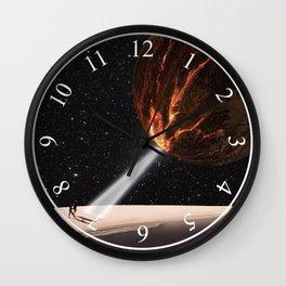 Go into Light Wall Clock