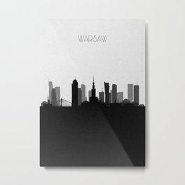 City Skylines: Warsaw Metal Print