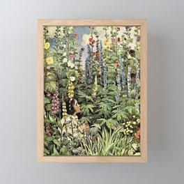 Jessie Willcox Smith - A Child's Garden Of Verses - Digital Remastered Edition Framed Mini Art Print
