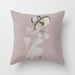 My Fair Lady Throw Pillow