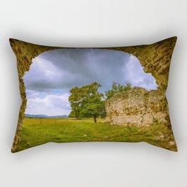 Under the ruins Rectangular Pillow