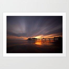 Cromer Pier Sunrise Art Print