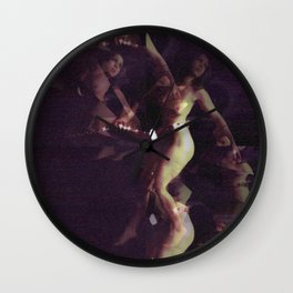 Leave me down here on my own. Wall Clock