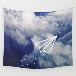 Paper Plane Wall Tapestry