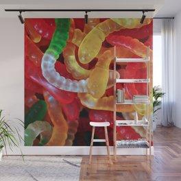 Gummi Worms Wall Mural