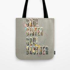 Soul Sister | Soul Brother - illustrations - Cover Tote Bag