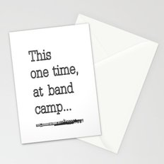 Band camp... Stationery Cards