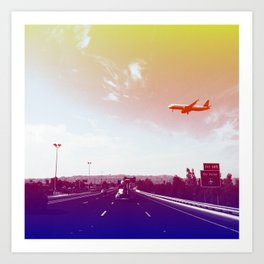 Sky Harbor II Art Print