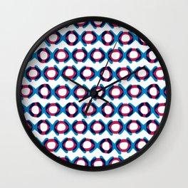 XOXOXOXO Wall Clock