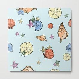 pretty sea shells Metal Print
