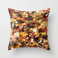 circus Throw Pillows featuring Circus by Kerri Swayze