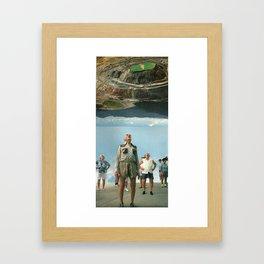 The Stunning Invasion Framed Art Print