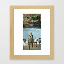 The Stunning Invasion Framed Art Print