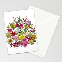 Lots of lilies to love! Stationery Cards