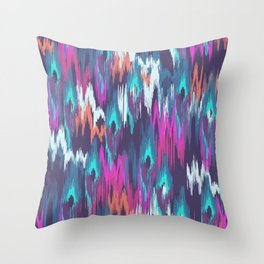 SMUDGED Throw Pillow