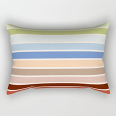 The colors of - Porco Rosso Rectangular Pillow