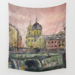 Сity before the rain. Wall Tapestry