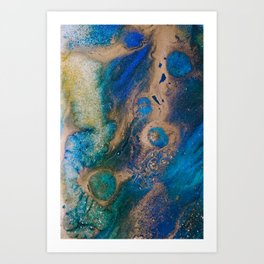"Tides of Change   ""Nile Tributaries"" (1) Art Print"